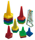 Plastic Stackable Cones